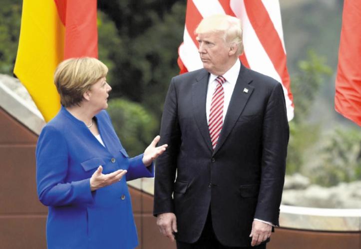 Entre l'Allemagne et les Etats-Unis, c'est le désamour