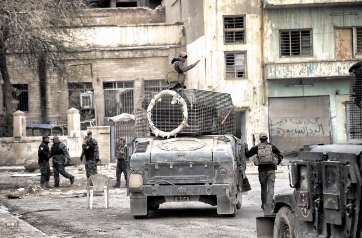 Les forces irakiennes progressent à Mossoul