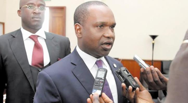 Le chef de la diplomatie du Burkina Faso, Alpha Barry.