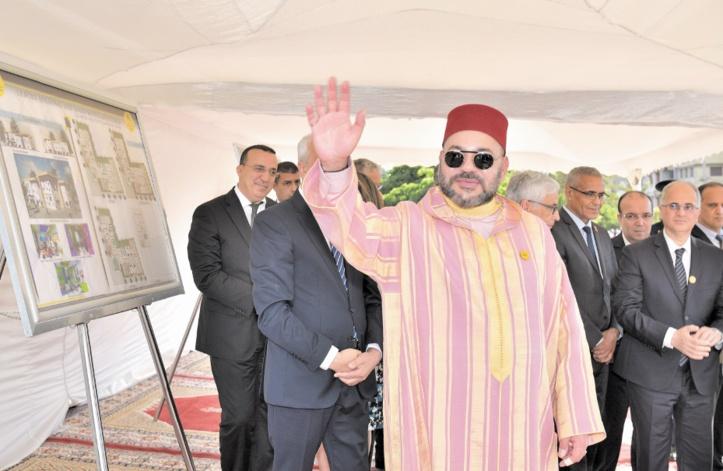 S.M le Roi lance les travaux de trois projets de la Fondation Mohammed V pour la solidarité