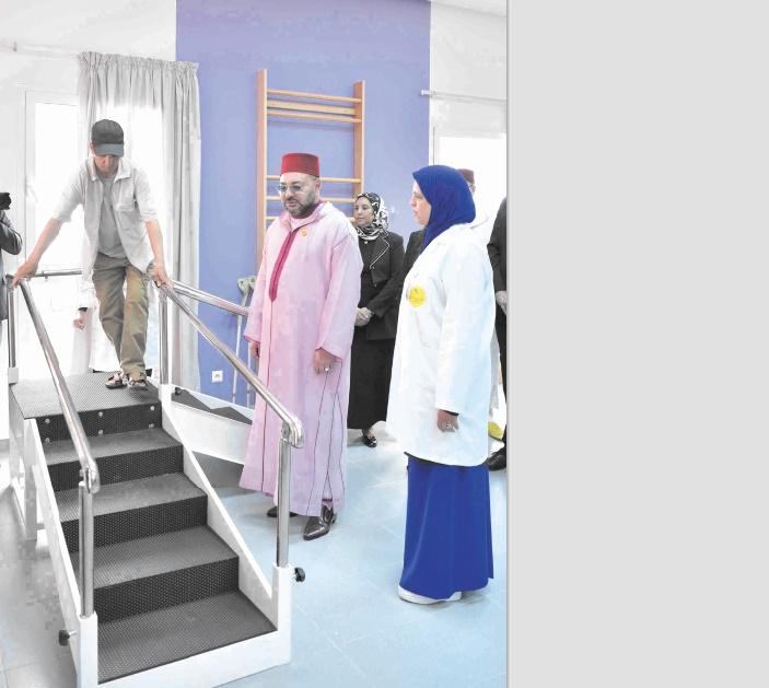S.M le Roi inaugure un Centre de rééducation et de réadaptation fonctionnelle à Ain Chock
