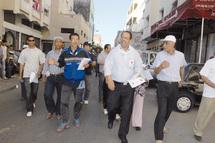 A Tabriquet, Jamal Rhmani en campagne : «Ould derb» se bat contre le béton