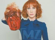 Une comédienne clouée au pilori pour une image de Trump décapité
