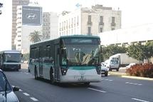 M'Dina bus en grève à Casablanca