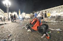 Un millier de blessés dans un mouvement de panique à Turin