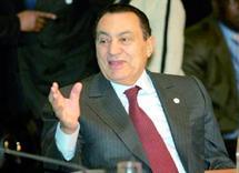 Moubarak juge le moment propice à la paix au Proche-Orient : «Un accord historique est à portée de main»
