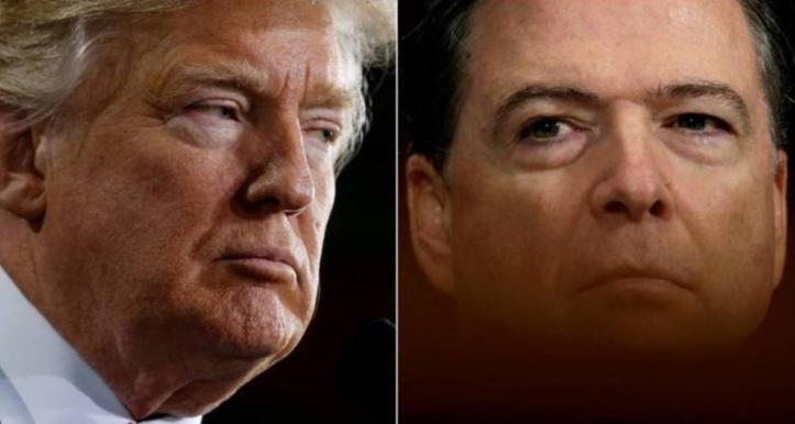 """Trump contre-attaque en accusant l'ex-chef du FBI de """"lâcheté"""""""