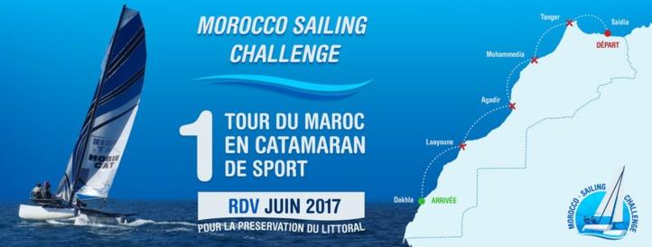 Premier tour du Maroc à voile