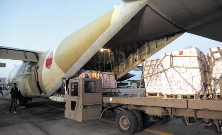 Aide alimentaire du Maroc au Qatar