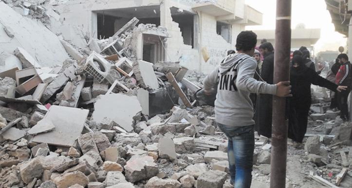 Les frappes sur Raqa ont tué un grand nombre de civils
