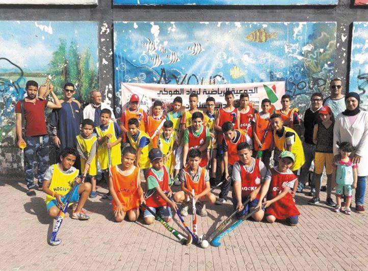 Street hockey à Derb Soltane