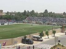 Préparatifs pour la réhabilitation du stade d'Oued-Zem