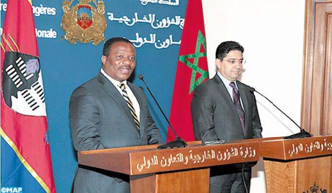 Le Swaziland réitère son soutien à la marocanité du Sahara