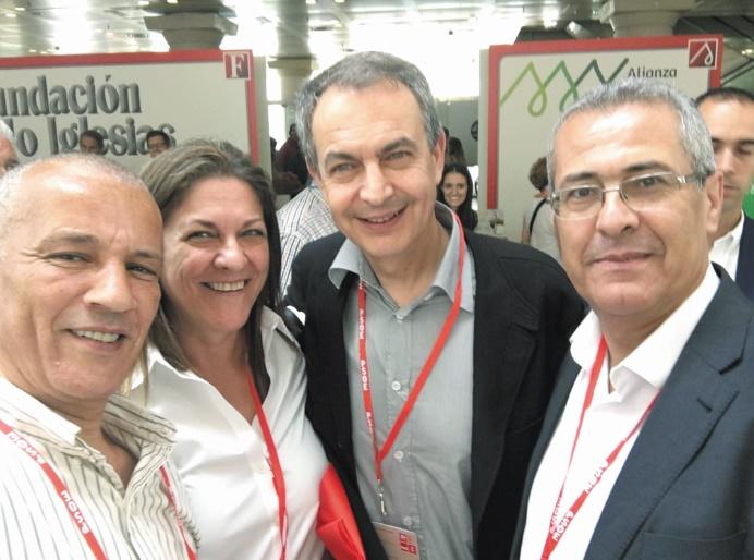 Benabdelkader et Fatih représentent l'USFP au Congrès du PSOE
