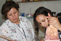 Entretien avec Rabia Echahed, présidente de l'Association Bassamat Chaouia Ouardigha et présidente du Festival international des arts plastiques de Settat