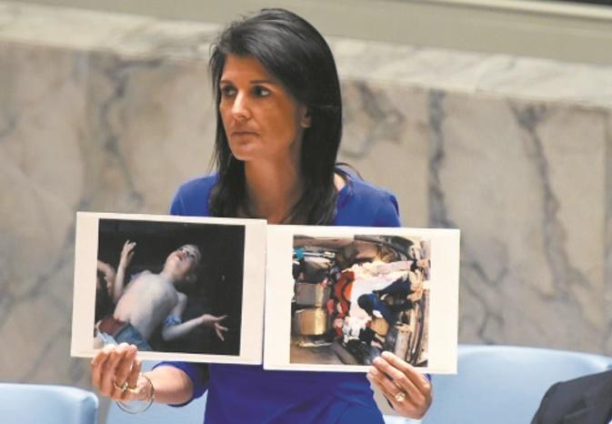Assad préparerait une attaque chimique, selon Washington