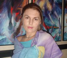 L'artiste ukrainienne Marina Vidinyova expose à Settat