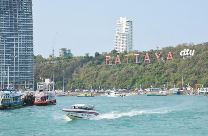 Il ne vaut pas mieux aller sur ces plages : La plage de Pattaya (Thaïlande)