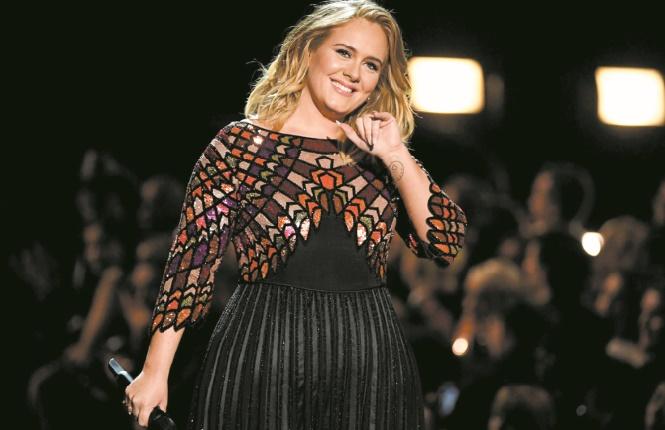 A Londres, Adele confie