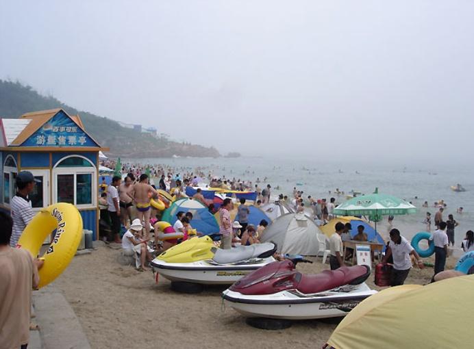 Il ne vaut pas mieux aller sur ces plages : La plage de Xinghai (Chine)