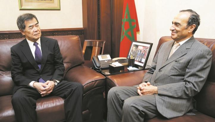 Entretiens maroco-japonais à Rabat Habib El Malki reçoit l'ambassadeur nippon