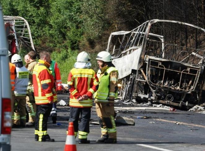 Au moins 18 morts dans un accident de car en Allemagne