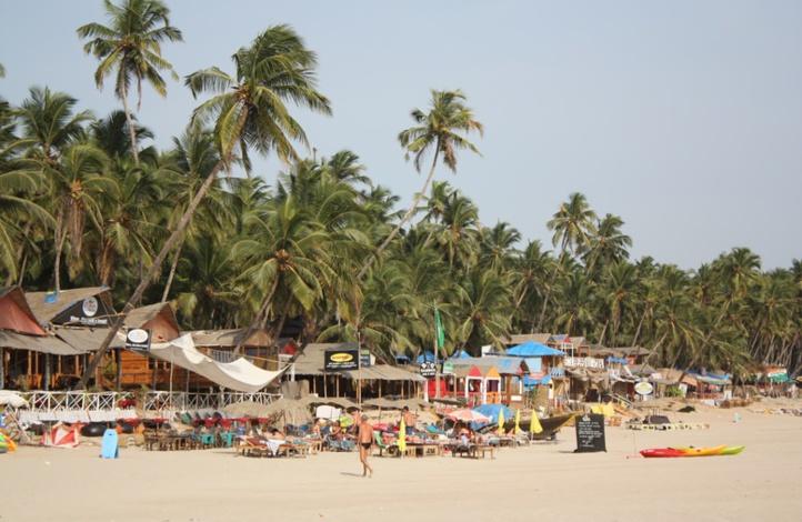 Il ne vaut pas mieux aller sur ces plages : La plage de Calangute (Goa)