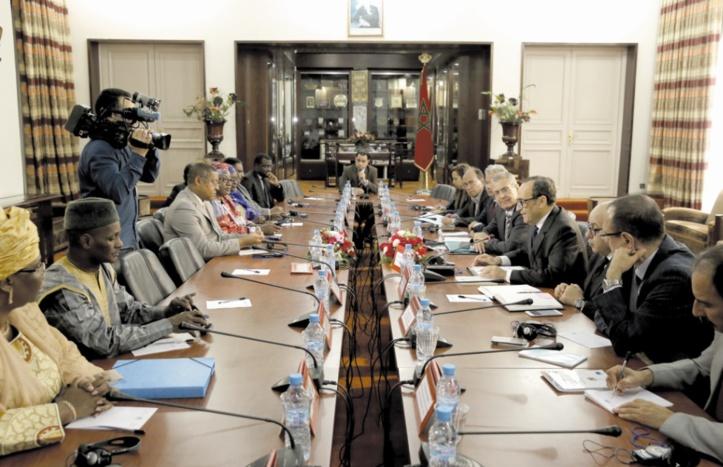 Habib El Malki reçoit des ministres de la Réforme de l'administration et de la Fonction publique en Afrique