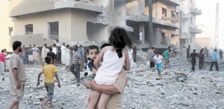 Les raids de la coalition ont tué 224 civils à Raqa en un mois