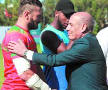 Présence remarquée du président de rugby Afrique.