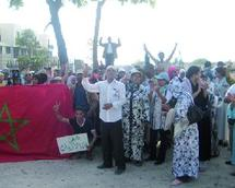 350 employés de l'hôtel Agador manifestent