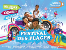 Coup d'envoi de la 16ème édition du Festival des plages Maroc Telecom