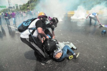 Le Venezuela en partie paralysée par une grève générale