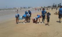 Actions citoyennes pour des plages propres à Essaouira