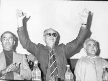 Vers l'Indépendance du Maroc : LA RÉSISTANCE ARMÉE ET LA SOLIDARITÉ MAGRHÉBINE (septembre - Octobre 1955) : Document 5 PREMIER ANNIVERSAIRE DE L'ELOIGNEMENT  DE SIDI MOHAMMED BEN YOUSSEF