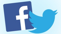Facebook flambe, Twitter coule