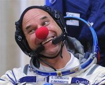 Un clown dans l'espace