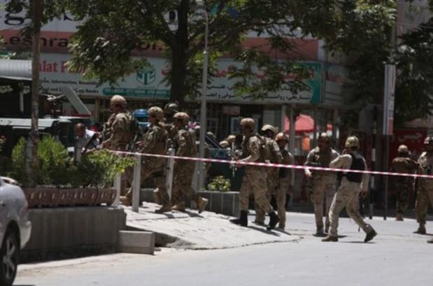 L'ambassade d'Irak attaquée par Daesh à Kaboul