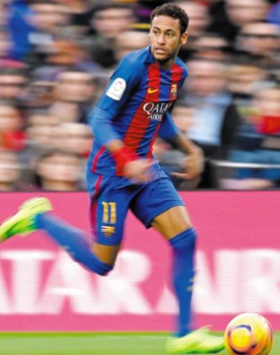 Neymar annonce son départ du Barça