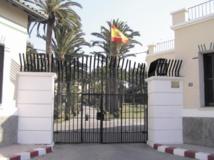 Protestation du personnel de l'ambassade d'Espagne au Maroc