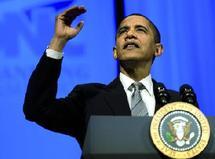 Le Nobel de la paix à Barack Obama