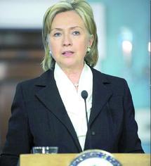Hillary Clinton à Moscou pour des discussions sur l'Iran