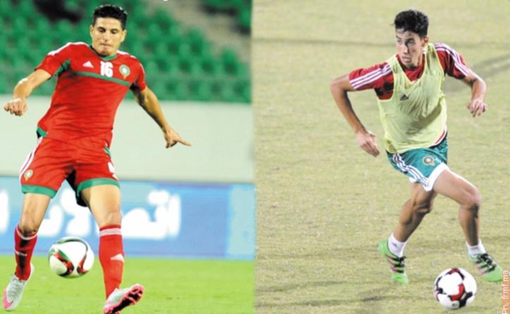 Nahiri et Agred forfaits pour le match de l'EN contre l'Egypte