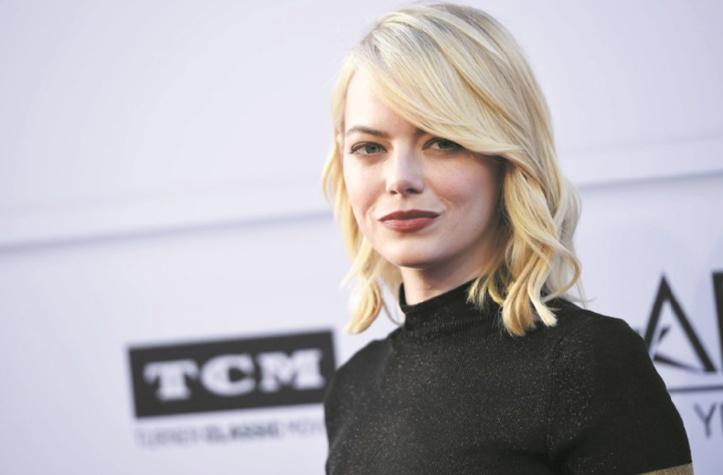 Emma Stone l'actrice la mieux payée du monde