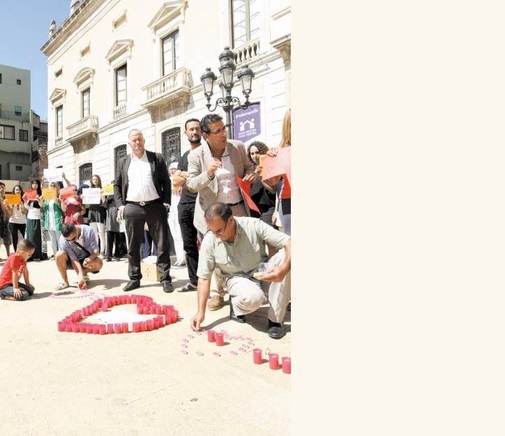Les MRE d'Espagne dénoncent la barbarie terroriste