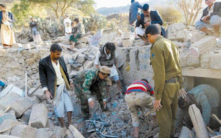 Au moins neuf morts dont des enfants dans un raid aérien sur Sanaa