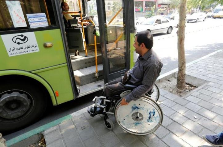 A Téhéran, le parcours du combattant des handicapés