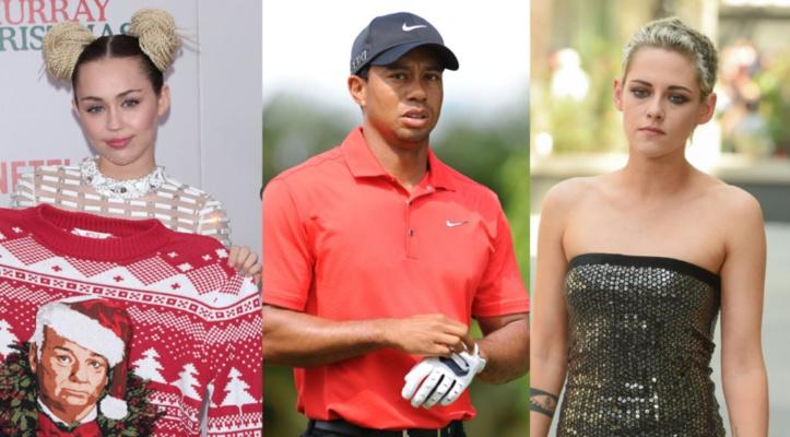 Des hackers dévoilent des photos intimes de Miley Cyrus, Kristen Stewart et Tiger Woods