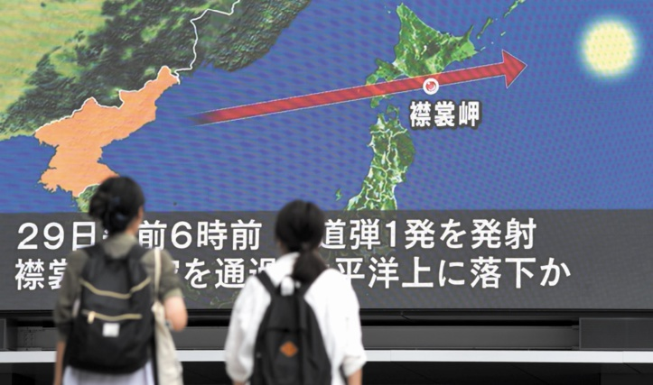 Un missile nord- coréen survole le Japon