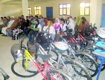 Des vélos pour lutter contre l'abandon scolaire à Agadir
